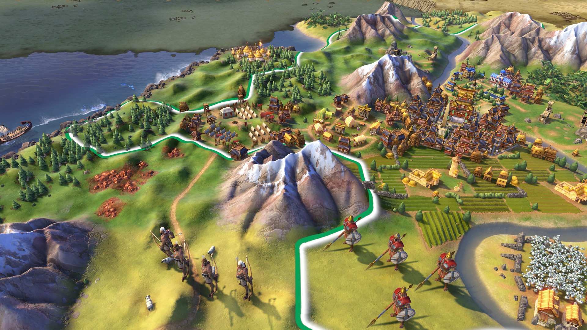 Sid Meier's Civilization VI Review Screenshot 1