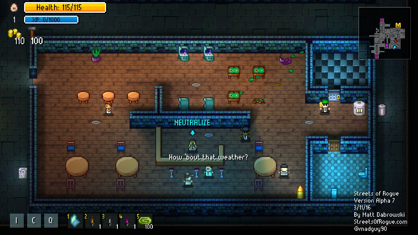 Streets of Rogue Review Screenshot 1