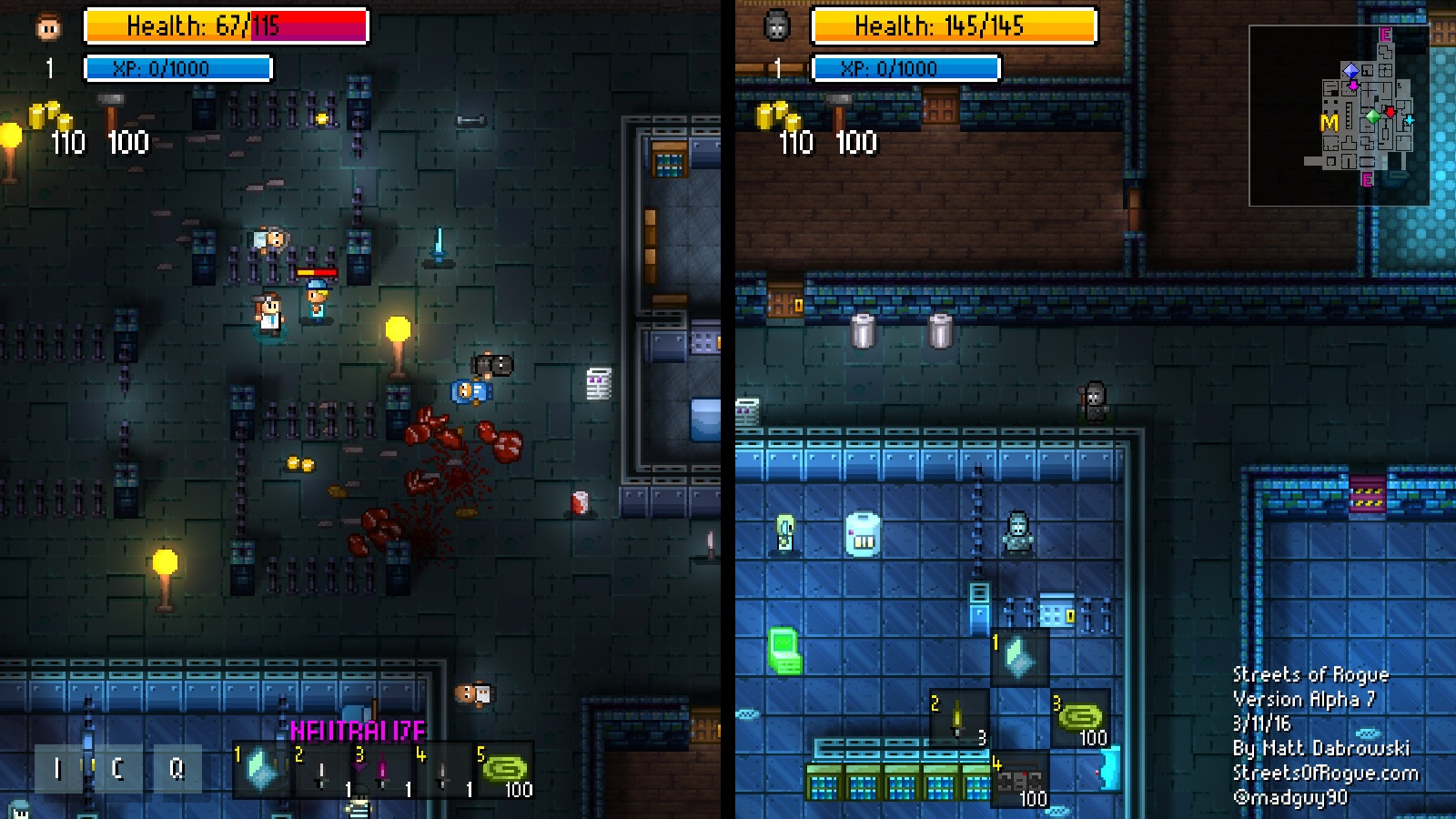 Streets of Rogue Review Screenshot 2