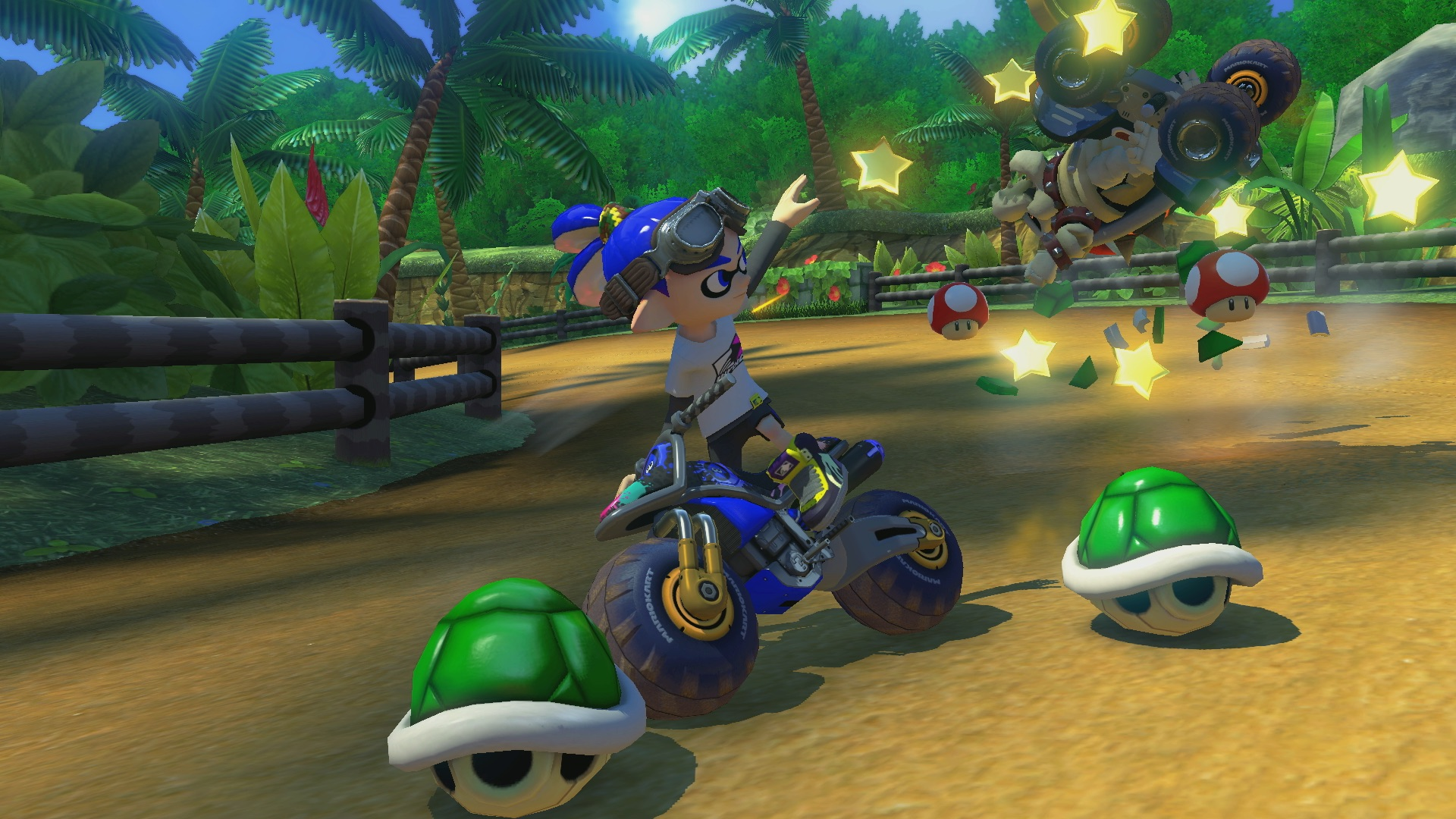 Image result for Mario Kart 8 Deluxe screenshot