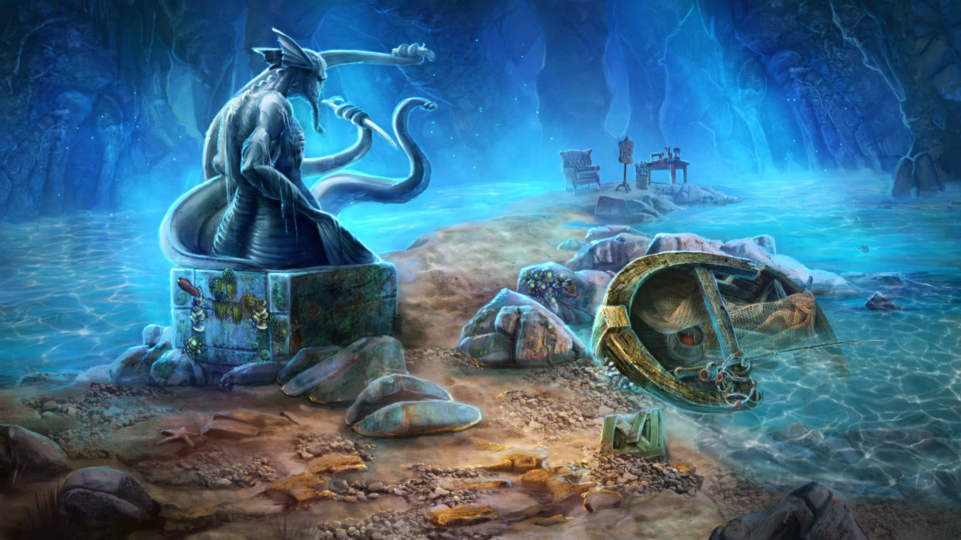 adventure, Artifex Mundi, casual, Hidden Object, Nightmares from the Deep 2, Nightmares from the Deep 2 Review, Nintendo Switch Review, Point & Click, Puzzle, Rating 8/10, Switch Review