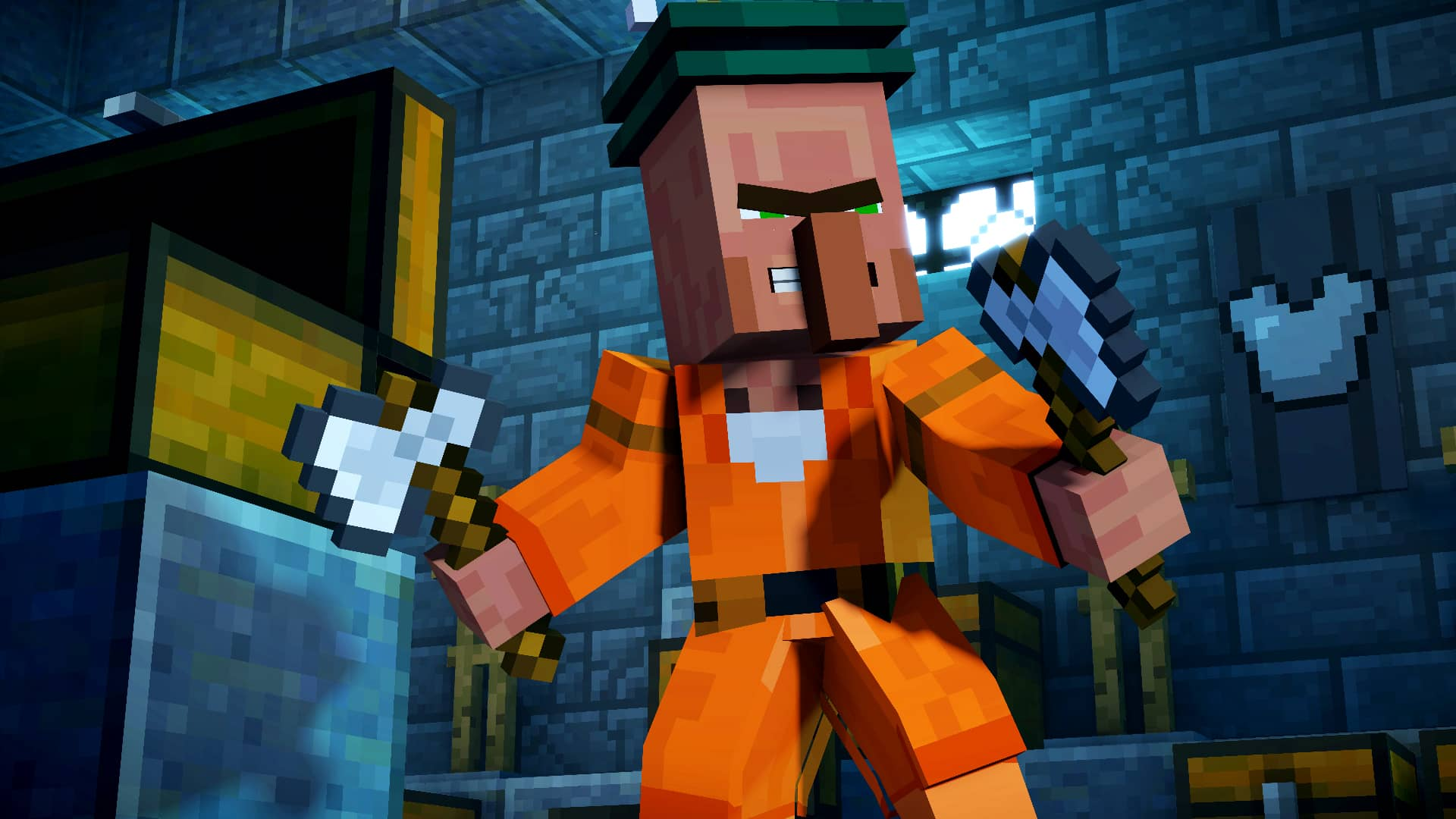 Minecraft Story Mode Season 2 Episode 3 Jailhouse Block Review