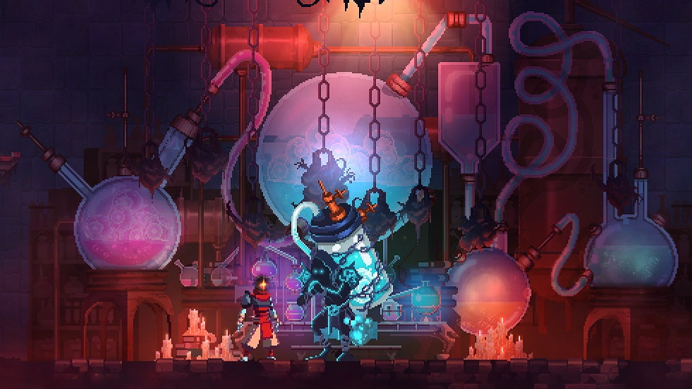 2D, Action, Dead Cells, Dead Cells Review, indie, Metroidvania, Motion Twin, Pixel Art, Pixel Graphics, PS4, PS4 Reviews, Rogue-like, Roguelike