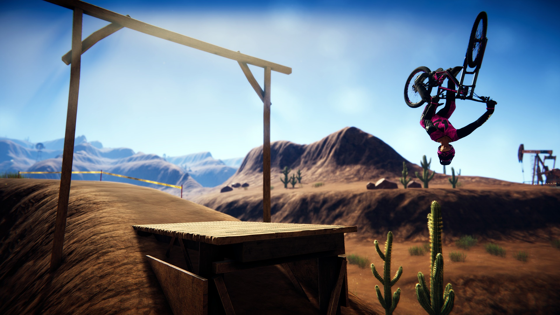 Action, Action Henk, arcade, Bikes, Biking, cycling, Descenders, Descenders Preview, Driving, Early Access, No More Robots, PC, Preview, Racing, RageSquid, Sports