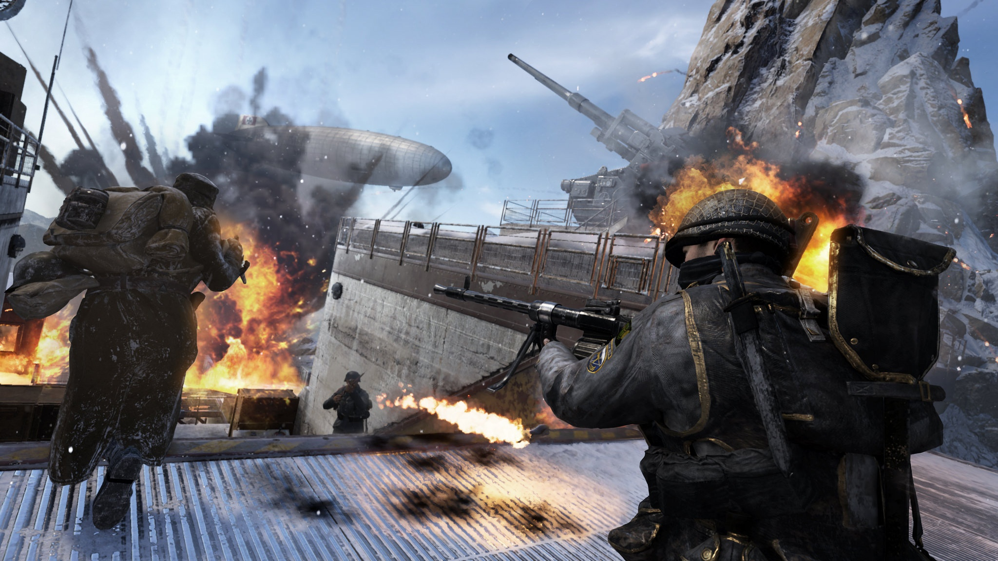 3D, Action, Activision, Call of Duty: World War II – Shadow War DLC Pack 4, Call of Duty: World War II – Shadow War DLC Pack 4 Review, first-person, FPS, multiplayer, PS4, PS4 Review, Rating 8/10, Raven Software, Shadow War, Shooter, Sledgehammer Games, War, World War II