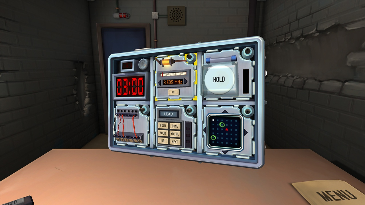3D, adventure, Communication, first-person, indie, Keep Talking and Nobody Explodes, Keep Talking and Nobody Explodes Review, Nintendo Switch Review, party, Puzzle, Rating 9/10, Steel Crate Games, Switch Review, VR