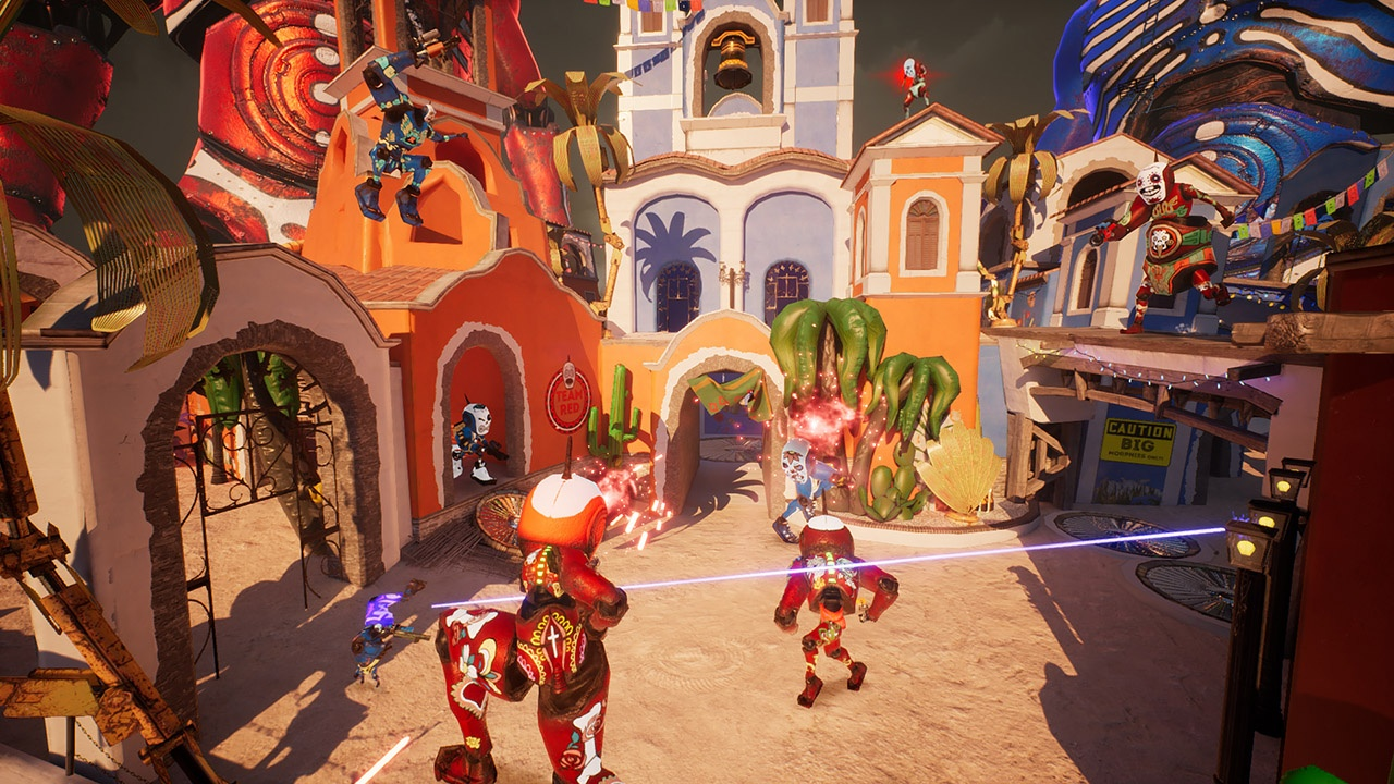 3D, Action, arcade, Cosmoscope, indie, Morphie's Law, Morphies Law Review, Nintendo Switch Review, PvP, Rating 7/10, Shooter, Switch Review, Team-Based, third-person