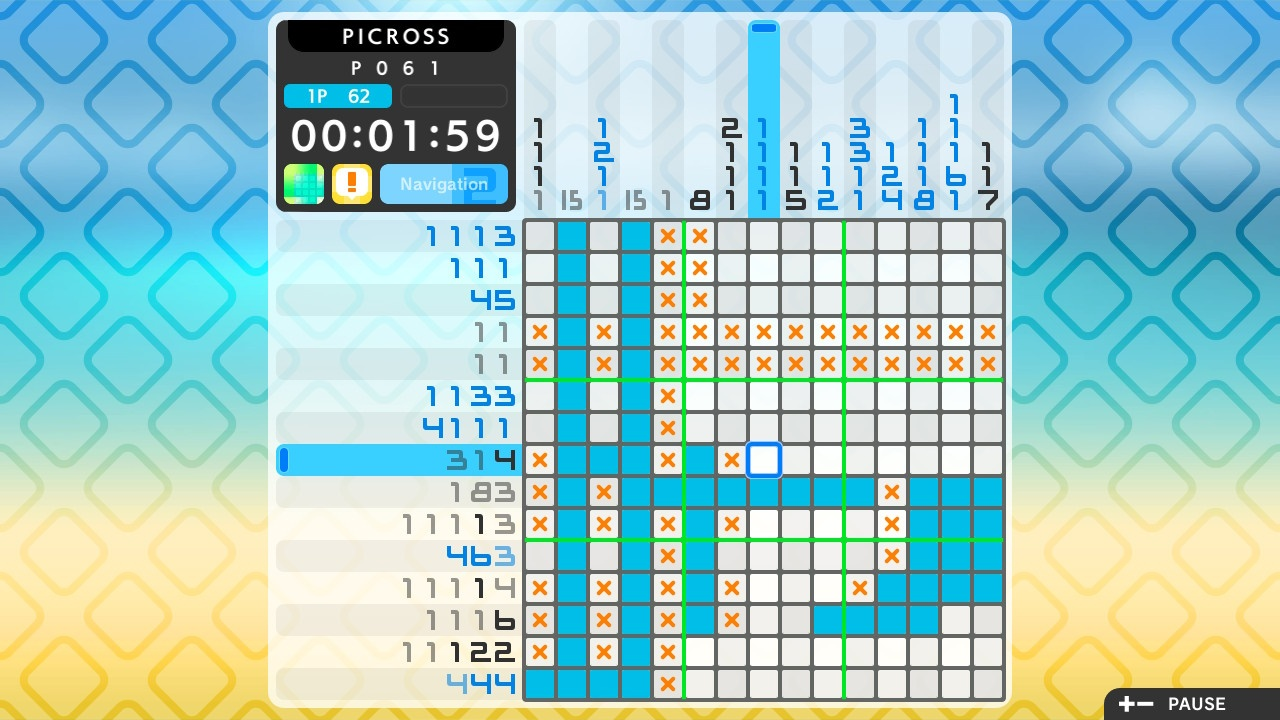 Jupiter Corporation, Nintendo Switch Review, picross, PICROSS S2, PICROSS S2 Review, Puzzle, Rating 7/10, Switch Review
