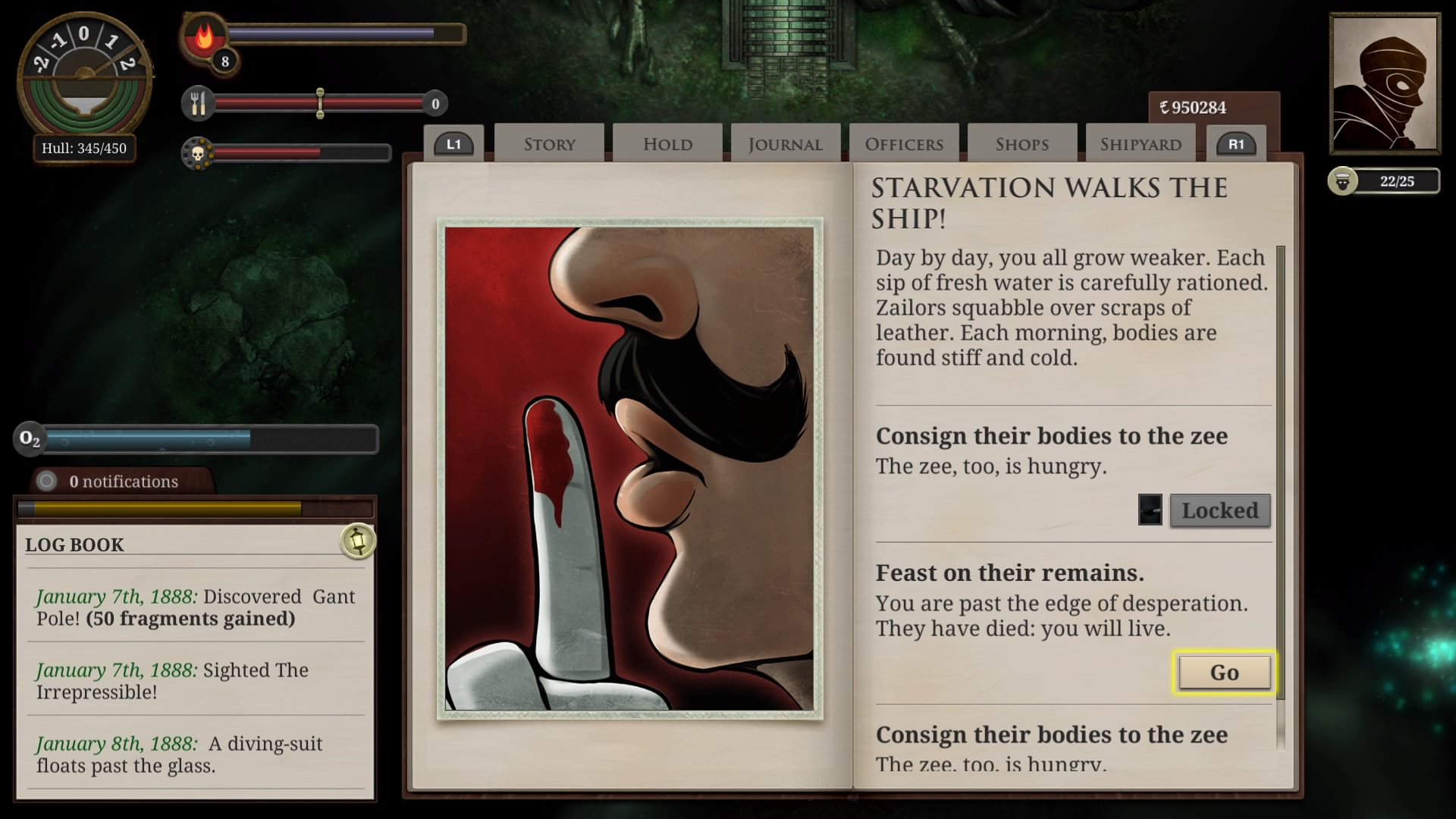 Action, adventure, exploration, Failbetter Games, indie, Lovecraftian, PS4, PS4 Review, Rating 6/10, RPG, Story Rich, Sunless Sea, Sunless Sea: Zubmariner Edition, Sunless Sea: Zubmariner Edition Review, survival