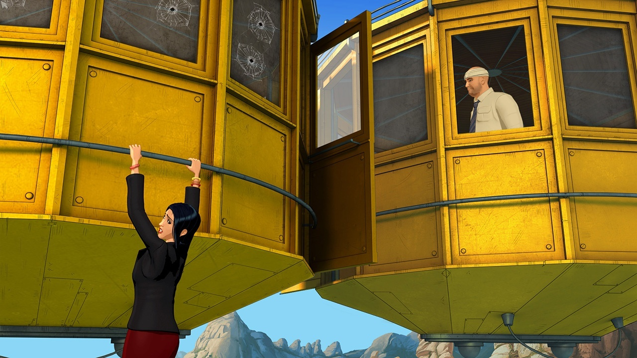 Action & Adventure, adventure, Broken Sword 5: The Serpent's Curse, Broken Sword 5: The Serpent's Curse Review, Deep Silver, Koch Media, Puzzle, Rating 8/10, Revolution Software, Role Playing Game, RPG, The Serpent's Curse, Xbox One, Xbox One Review