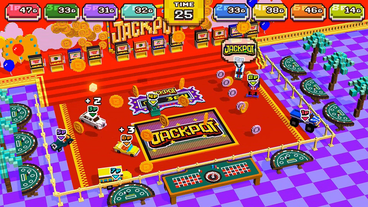 Action, arcade, Chiki-Chiki Boxy Racers, Chiki-Chiki Boxy Racers Review, Driving, multiplayer, Nintendo Switch Review, party, Pocket, Racing, Rating 7/10, Sony Music Entertainment, Sports, Switch Review, UNTIES