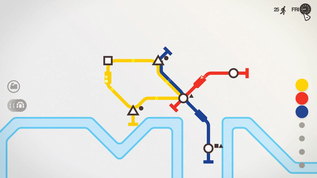indie, management, Mini Metro, Mini Metro Review, Minimalist, Nintendo Switch Review, Puzzle, Radial Games, Rating 8/10, simulation, strategy, Switch Review