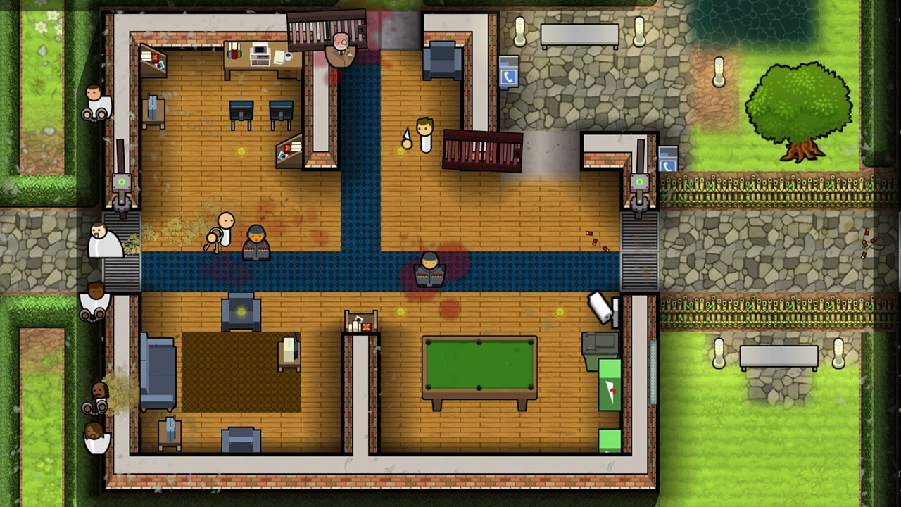2D, Building, Double Eleven, indie, Introversion Software, management, Prison Architect, Prison Architect: Escape Mode Bundle, Prison Architect: Escape Mode Bundle Review, PS4, PS4 Review, Rating 8/10, simulation, strategy