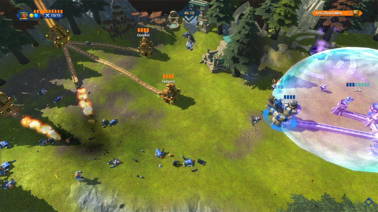 Action, Blowfish Studios, Level 77, MOBA, Nintendo Switch Review, Rating 7/10, Real-Time, RTS, Siegecraft Commander, Siegecraft Commander Review, strategy, Switch Review