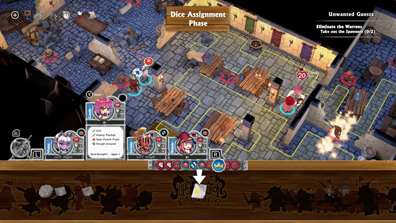 adventure, board game, Nintendo Switch Review, Rating 7/10, Role Playing Game, RPG, strategy, Super Dungeon Tactics, Super Dungeon Tactics Review, Switch Review, Underbite Games