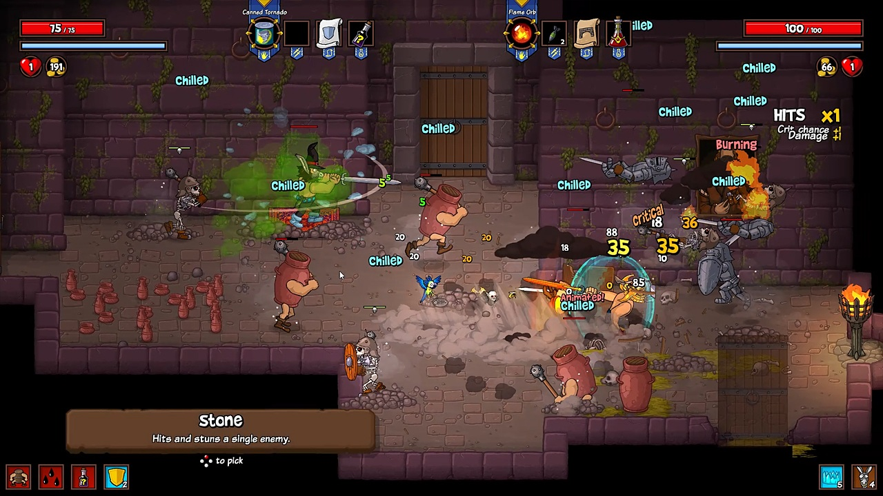 Rampage Knights Review Bonus Stage Over 5000 Video Game Reviews