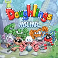 2D, Action, arcade, Doughlings: Arcade, Doughlings: Arcade Review, Hero Concept, indie, level editor, PS4, PS4 Review, Rating 5/10, retro