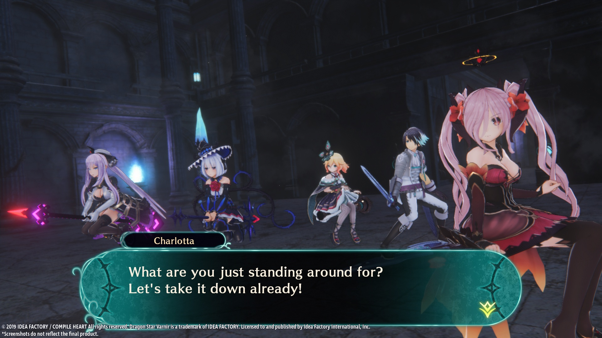 Action, adventure, Compile Heart, Dragon Star Varnir, Dragon Star Varnir Review, Idea Factory, jrpg, PS4, PS4 Review, Rating 8/10, Role Playing Game, RPG