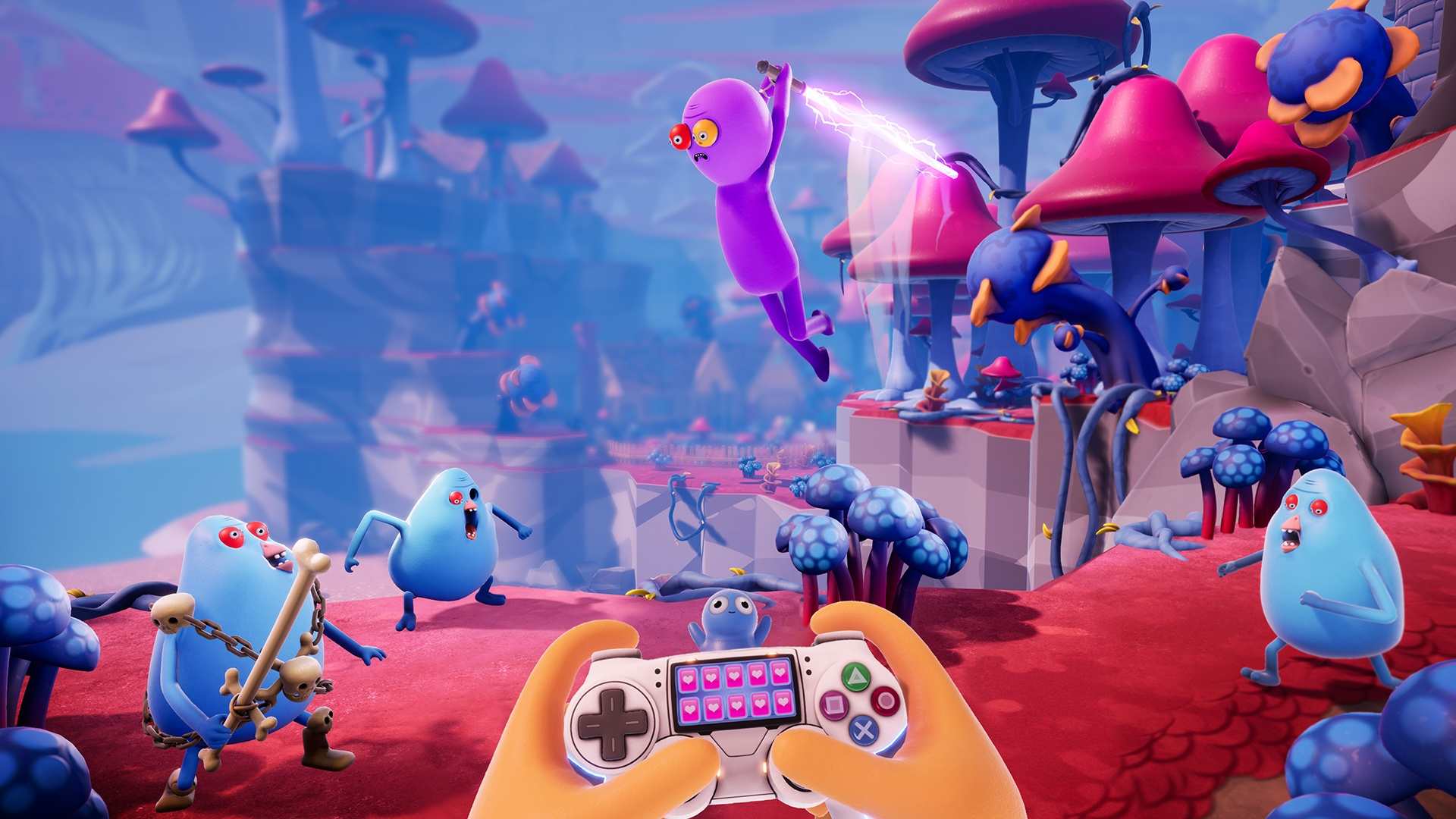 Action, adventure, Comedy, Gearbox Publishing, Gearbox Software, indie, PS4, PS4 Review, Rating 9/10, Squanch Games, Trover Saves the Universe, Trover Saves the Universe Review, VR