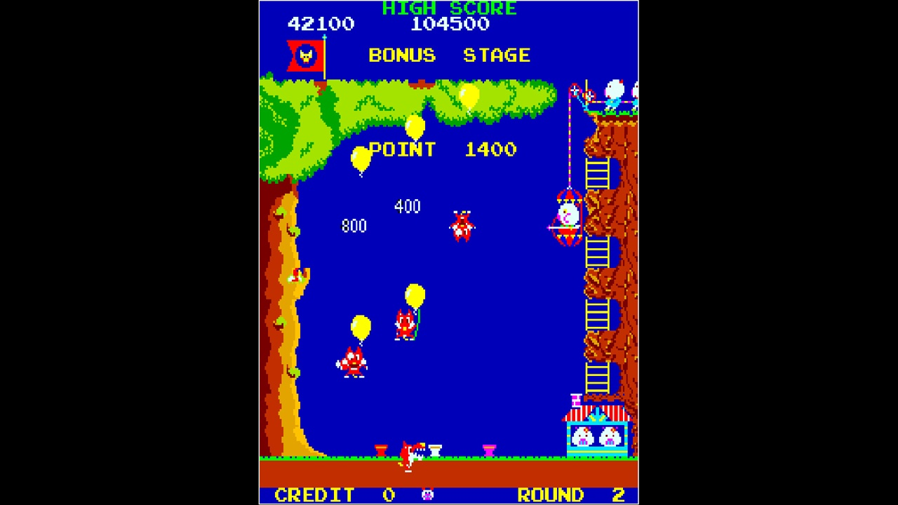 Action, arcade, Arcade Archives, Arcade Archives POOYAN, Arcade Archives POOYAN Review, Hamster Corporation, Konami, Nintendo Switch Review, POOYAN, Rating 7/10, Shoot 'Em Up, Shooter, Switch Review, top down