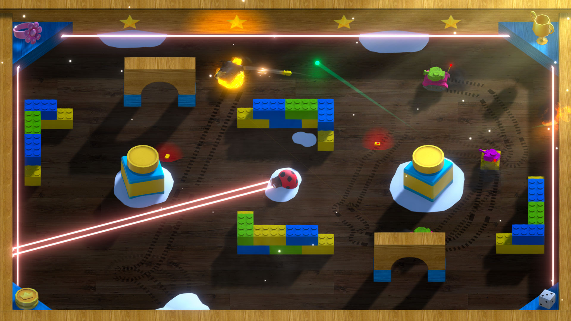 Action, arcade, Attack of the Toy Tanks, Attack of the Toy Tanks Review, multiplayer, Petite Games, PS4, PS4 Review, Ratalaika Games, Rating 6/10