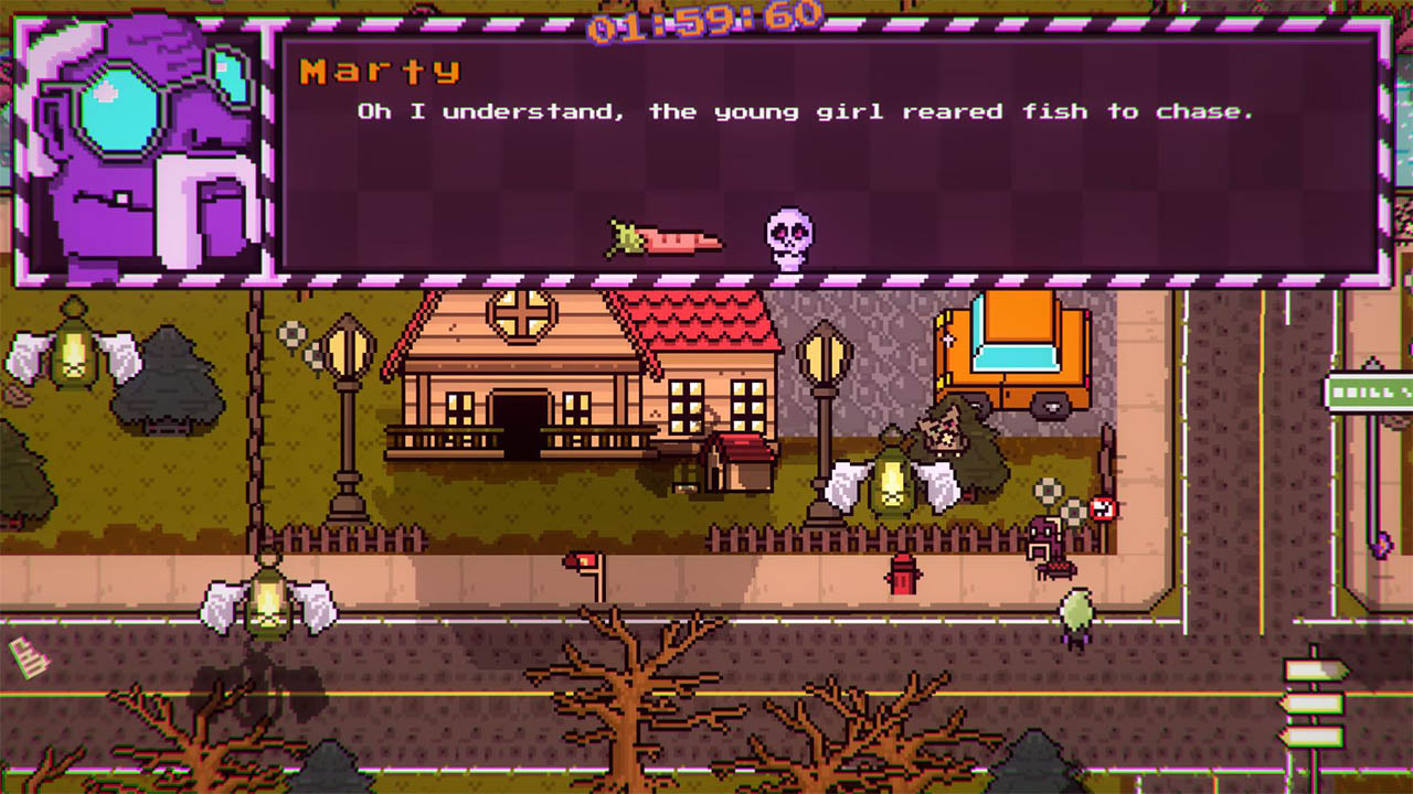 adventure, Baobabs Mausoleum Ep.2: 1313 Barnabas Dead End Drive, Baobabs Mausoleum Ep.2: 1313 Barnabas Dead End Drive Review, Celery Emblem, indie, Nintendo Switch Review, Pixel Graphics, Rating 8/10, retro, RPG, Story Rich, Switch Review, Zerouno Games