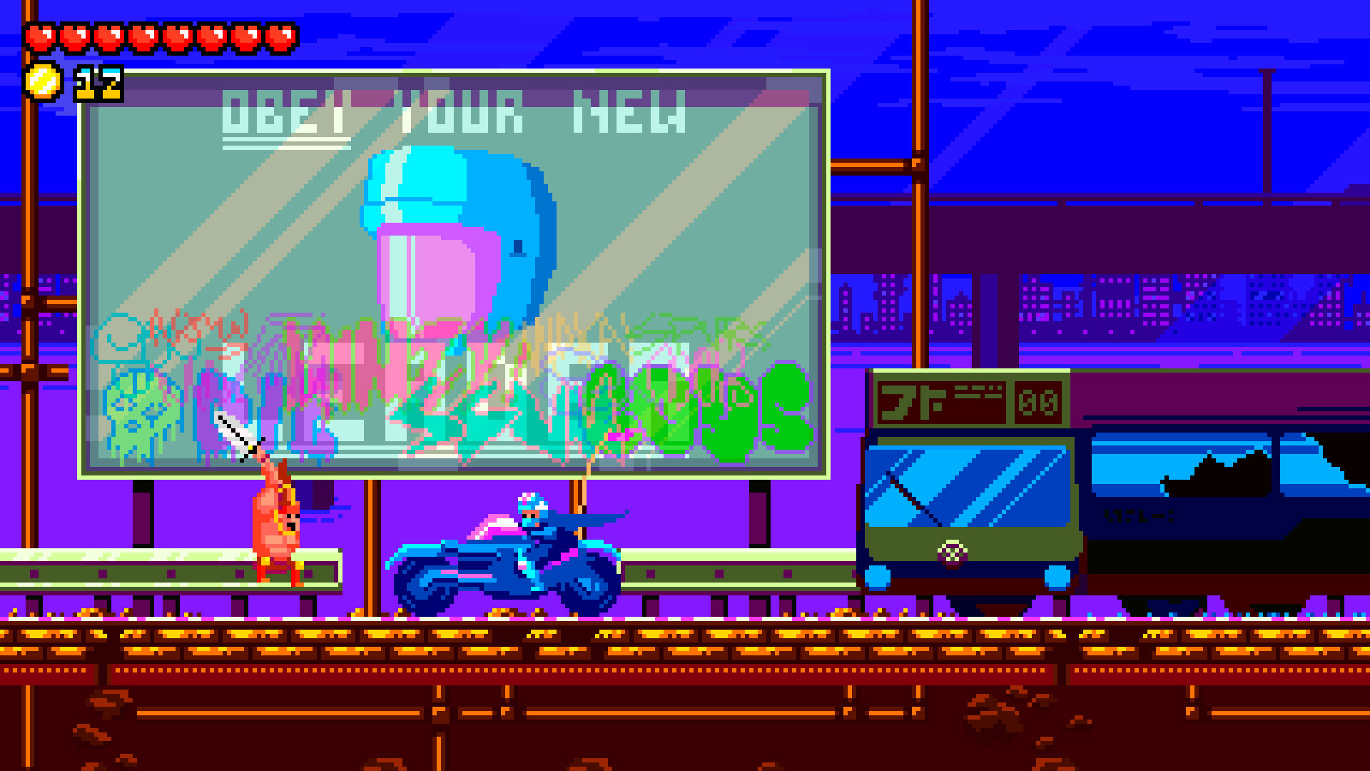 2d, action, adventure, cybarian: the time traveling warrior, cybarian: the time traveling warrior review, grab the games, indie, pixel graphics, platformer, ps4, ps4 review, ratalaika games, ritual games, sci-fi, undefined,
