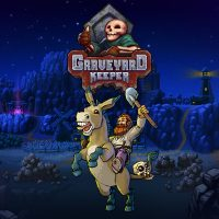 adventure, crafting, gore, graveyard keeper, graveyard keeper review, indie, lazy bear games, mystery, nintendo switch review, pixel graphics, rpg, sandbox, simulation, story rich, switch review, tinybuild, tinybuild games, violent,