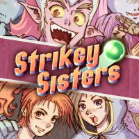 2D, Action, adventure, arcade, DYA Games, Nintendo Switch Review, Pixel Graphics, Rating 7/10, Strikey Sisters, Strikey Sisters Review, Switch Review