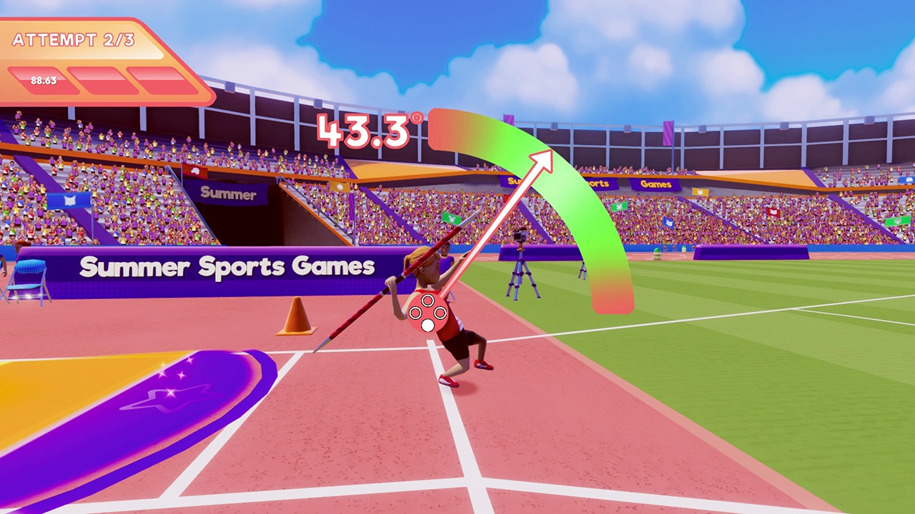 100m Run, 400m Hurdles, 800m Run, Action, arcade, Archery, casual, Hammer Throw, High Jump, indie, Javelin Throw, Joindots, Long Jump, multiplayer, Nintendo Switch Review, Pole Vault, Rating 5/10, Relay, Shot Put, simulation, Sports, Summer Sports Games, Summer Sports Games Review, Switch Review, Weightlifting