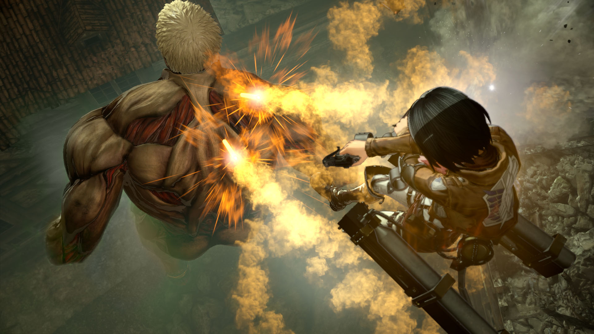 A.O.T. 2: Final Battle, A.O.T. 2: Final Battle Review, Action, anime, co-op, Gore, Koei Tecmo Games, nudity, Omega Force, PS4, PS4 Review, Violent