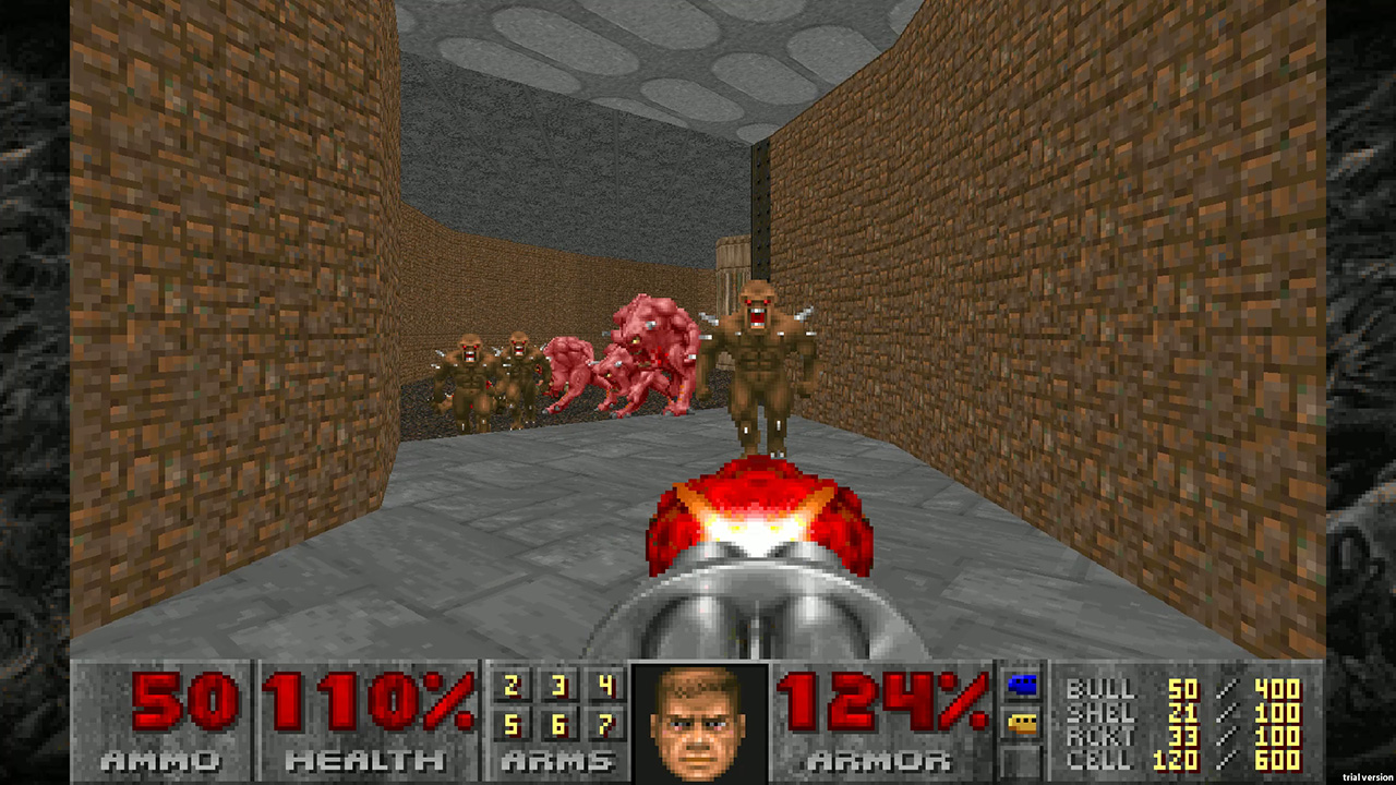 1990's, Action, Bethesda Softworks, Classic, Doom, DOOM II (Classic), DOOM II (Classic) Review, First Person Shooter, FPS, id Software, Rating 10/10, retro, Shooter, ZeniMax Media