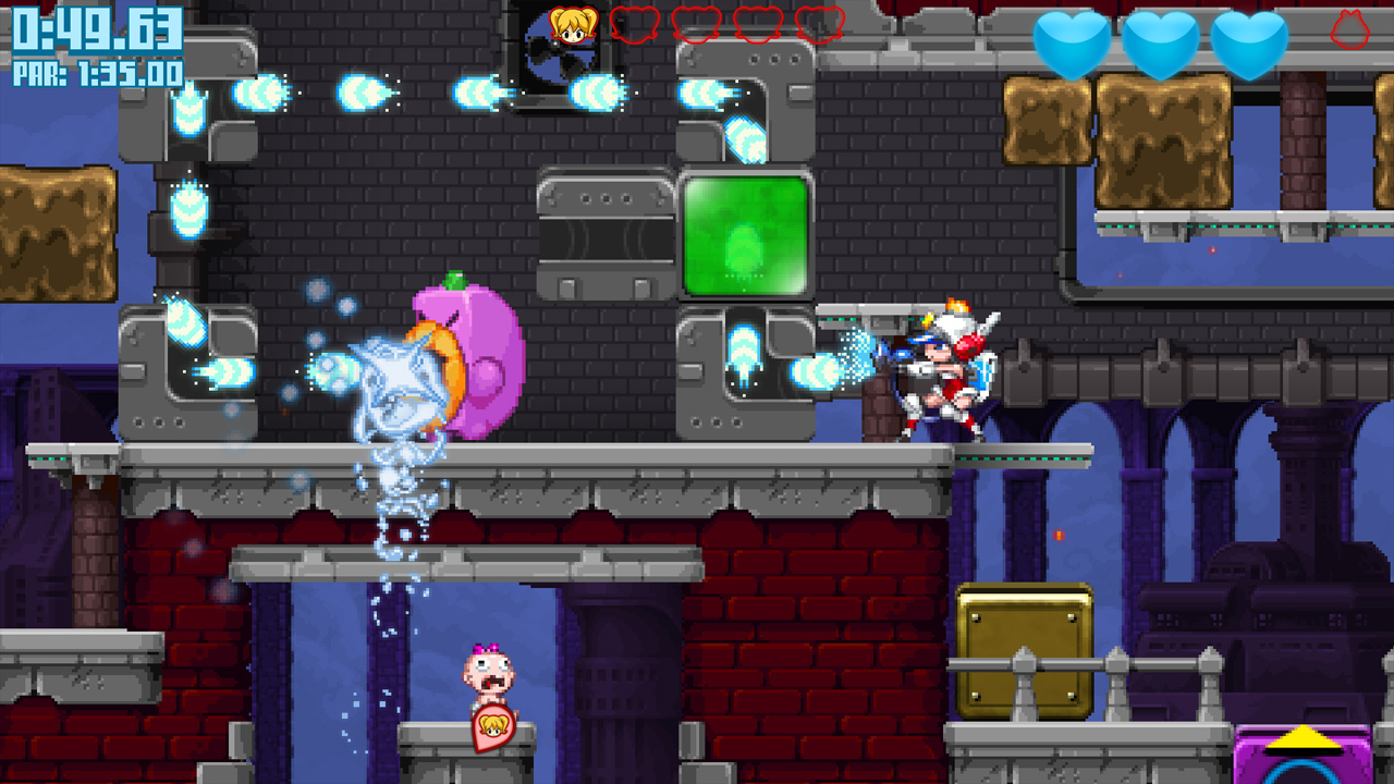 2D, Action, adventure, indie, Intergrow, Mighty Switch Force, Mighty Switch Force Review, Platformer, Puzzle, Rating 9/10, strategy, WayForward, Xbox One, Xbox One Review
