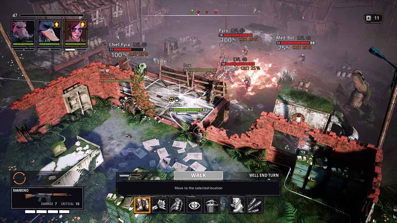 adventure, Funcom, Mutant Year Zero: Road to Eden, Mutant Year Zero: Road to Eden Review, Mutant Year Zero: Seed of Evil, Mutant Year Zero: Seed of Evil Review, Nintendo Switch Review, Rating 6/10, Role Playing Game, RPG, strategy, Switch Review, The Bearded Ladies, Turn-Based Combat