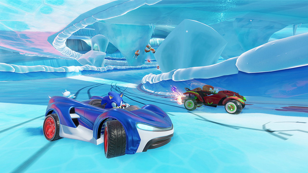 arcade, co-op, Driving, Great Soundtrack, multiplayer, PS4, PS4 Review, Racing, SEGA, Sonic the hedgehog, Sumo Digital, Team Sonic Racing, Team Sonic Racing Review