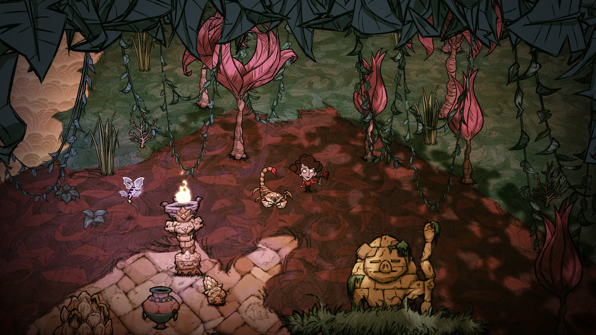 Don't Starve: Hamlet Review | Bonus Stage on bloodborne map, dark souls map, dead rising 3 map, dragon age: inquisition map, h1z1 map, dying light map, five nights at freddy's map, strider map, lords of the fallen map, damnation map, assassin's creed unity map, crackdown 2 map, icewind dale map, destiny map, axiom verge map, the crew map, terraria map, project zomboid map, the elder scrolls online map, everybody's gone to the rapture map,