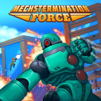 2D, Action, arcade, Hörberg Productions, Mechstermination Force, Mechstermination Force Review, Nintendo Switch Review, Platformer, Rating 9/10, Shooter, Switch Review, Video Game, Video Game Review