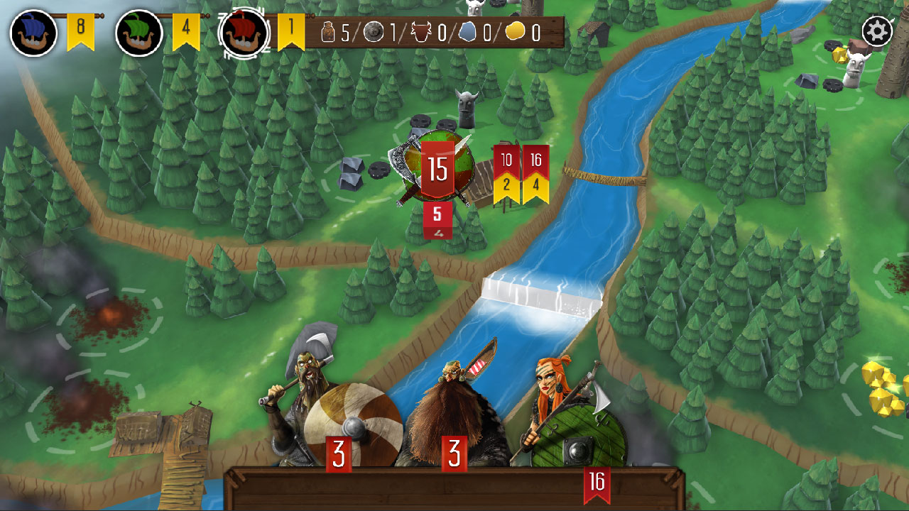 board game, Dire Wolf Digital, Medieval, multiplayer, Nintendo Switch Review, Puzzle, Raiders of the North Sea, Raiders of the North Sea Review, Rating 9/10, strategy, Switch Review