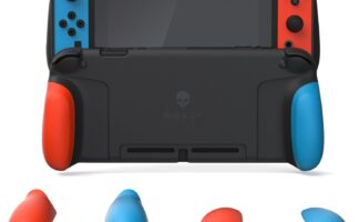 Gaming Accessories, GripCase, GripCase For Nintendo SWITCH, Nintendo Switch Review, Rating 9/10, Skull & Co, Switch Review