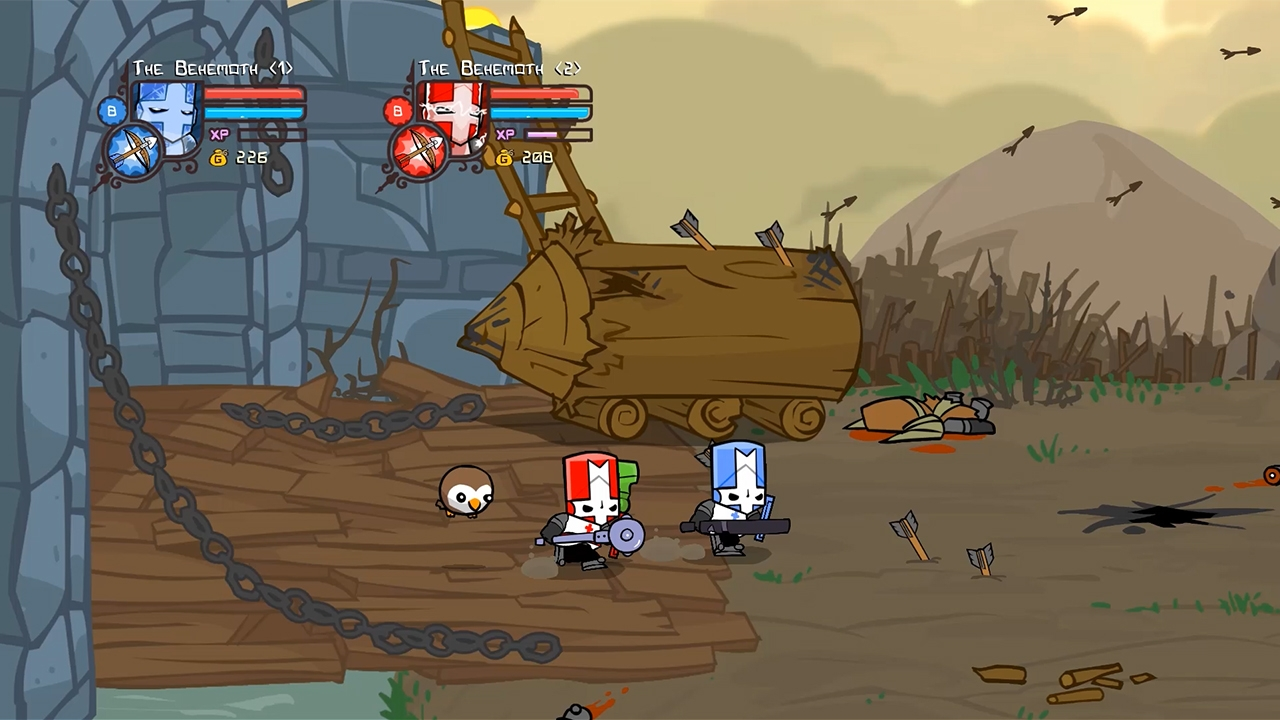 2D, Action, adventure, Beat-'Em-Up, Castle Crashers, Castle Crashers Remastered, Castle Crashers Remastered Review, Microsoft Game Studios, multiplayer, Nintendo Switch Review, Role Playing Game, RPG, Switch Review, The Behemoth