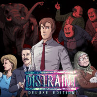 adventure, casual, DISTRAINT, DISTRAINT: Deluxe Edition, DISTRAINT: Deluxe Edition Review, Horror, indie, Jesse Makkonen, Nintendo Switch Review, Pixel Graphics, Psychological Horror, Ratalaika Games, Rating 7/10, Switch Review