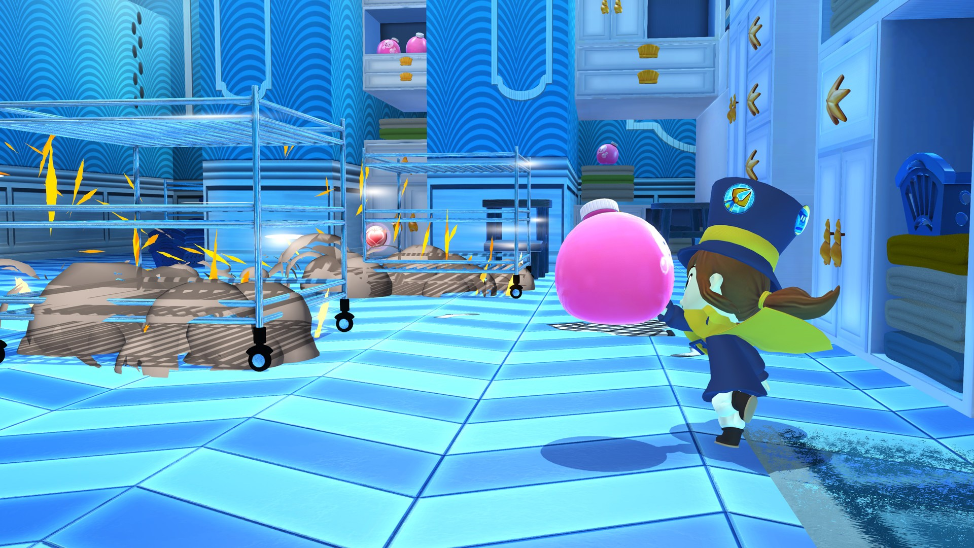 3D, A Hat in Time, A Hat in Time – Seal the Deal, A Hat in Time – Seal the Deal Review, Action, adventure, Cute, Female Protagonist, Gears for Breakfast, Great Soundtrack, humble bundle, indie, Nintendo Switch Review, Platformer, Rating 8/10, Switch Review