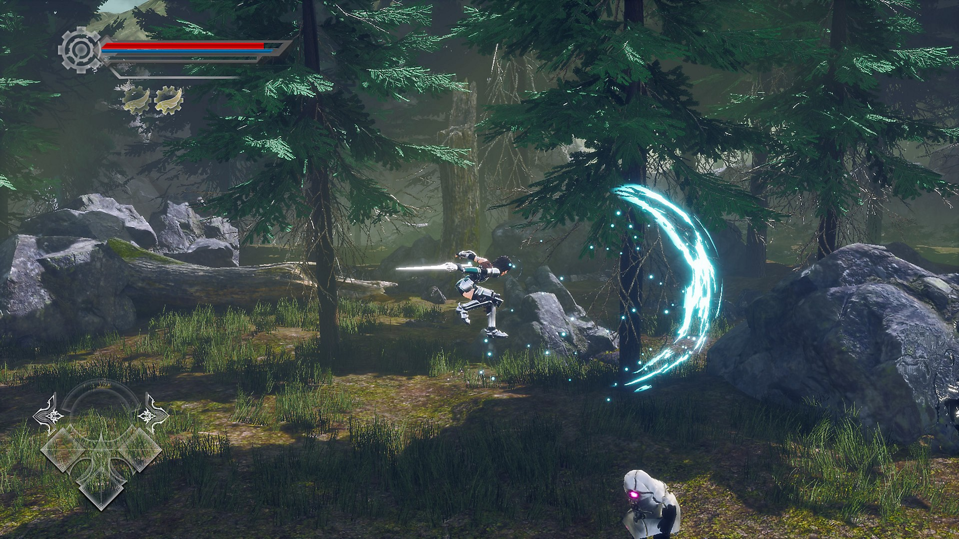 2D, Action, AeternoBlade II, AeternoBlade II Review, Corecell Technology, Nintendo Switch Review, Platformer, PQube, Puzzle, Rating 8/10, Role Playing Game, RPG, Switch Review