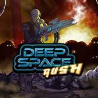 Action, arcade, BUG Studio, Deep Space Rush, Deep Space Rush Review, PS4, PS4 Review, Ratalaika Games, Rating 4/10, Shooter, simulation