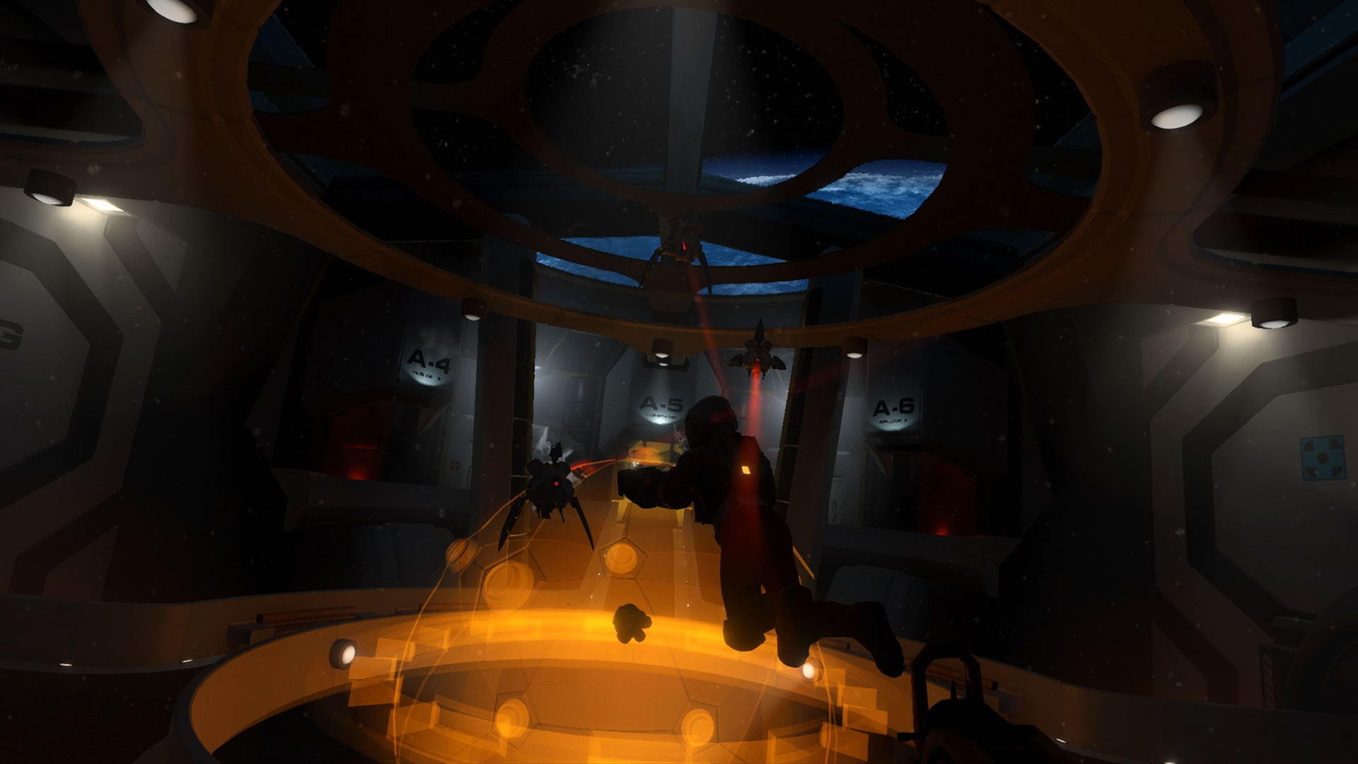 3D, 3rd Eye Studios, Action, adventure, Downward Spiral, Downward Spiral: Horus Station, Downward Spiral: Horus Station Review, first-person, indie, PS4, PS4 Review, Rating 4/10, Sci-Fi, Space, VR