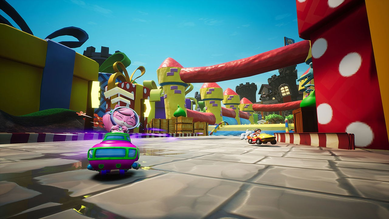 3DClouds, arcade, Automobile, Driving, multiplayer, Nintendo Switch Review, Outright Games, party, Race with Ryan, Race with Ryan Review, Racing, Rating 8/10, Sports, Switch Review
