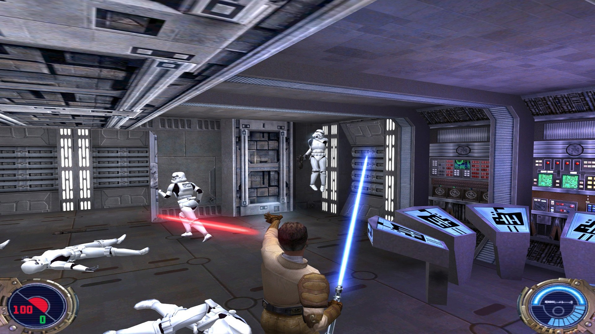 Action, Aspyr Media, Classic, disney interactive, LucasArts, Lucasfilm, multiplayer, PS4, PS4 Review, Rating 7/10, Raven Software, Sci-Fi, Star Wars, Star Wars Jedi Knight II: Jedi Outcast, Star Wars Jedi Knight II: Jedi Outcast Review