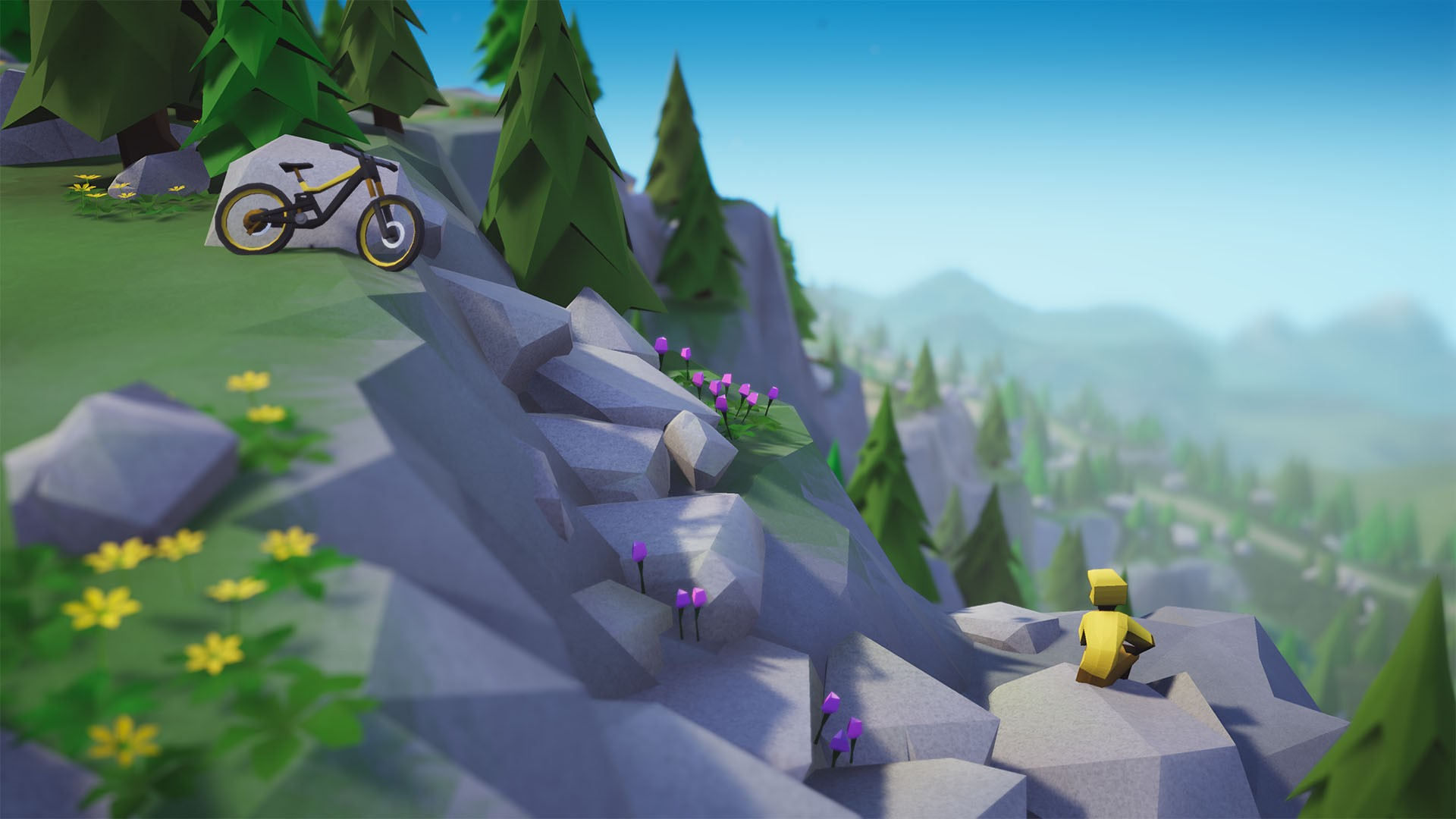 Action, arcade, Bikes, indie, Lonely Mountains: Downhill, Lonely Mountains: Downhill Review, Megagon Industries, Nintendo Switch Review, physics, Racing, Rating 8/10, simulation, Sports, Switch Review, Thunderful Publishing
