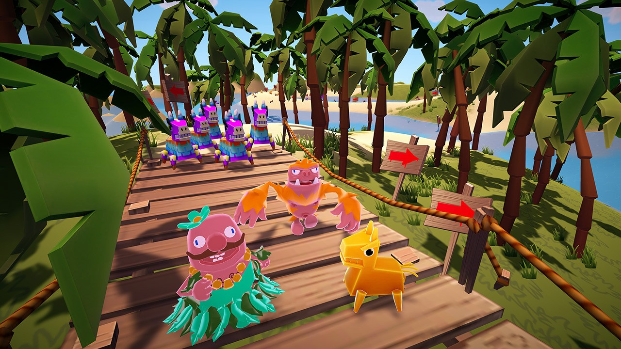 Action, arcade, casual, Family, indie, MINIBEAST, miniBeast Game Studios, Minigame, multiplayer, Must Dash Amigos, Must Dash Amigos Review, Nintendo Switch Review, party, Racing, Rating 6/10, Switch Review