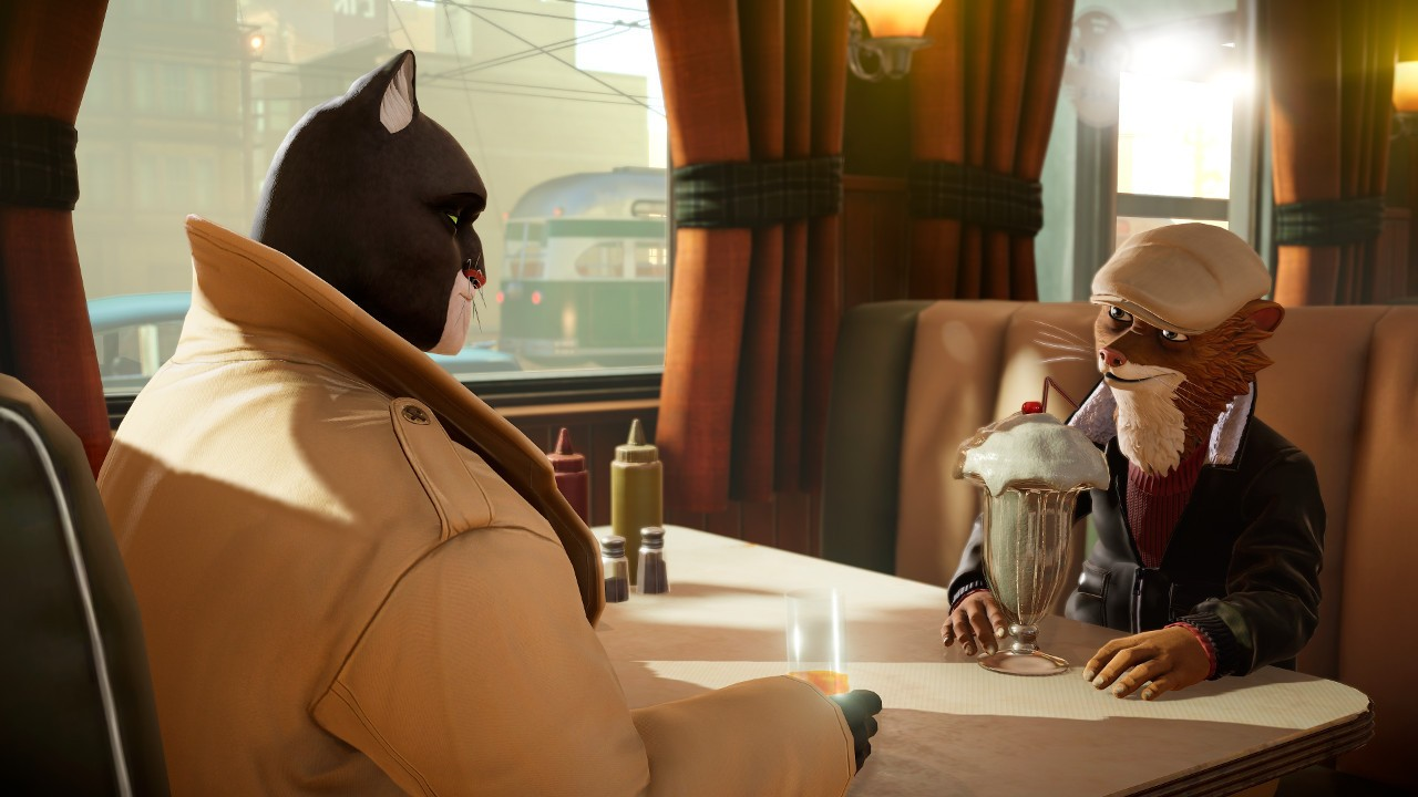 3D, adventure, Anuman Interactive, Blacksad: Under the Skin, Blacksad: Under the Skin Review, Comic Book, Detective, first-person, Microids, Noir, nudity, pendulo studios, Xbox One, Xbox One Review, YS Interactive